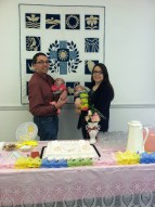 Yesterday, we went to a baby shower hosted by the churches Joel serves.