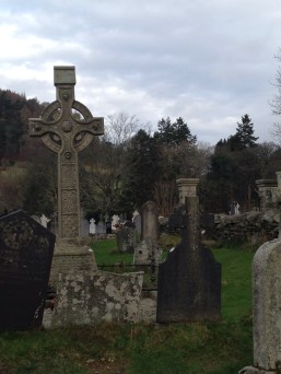 A former monastic community in the hills of Ireland.
