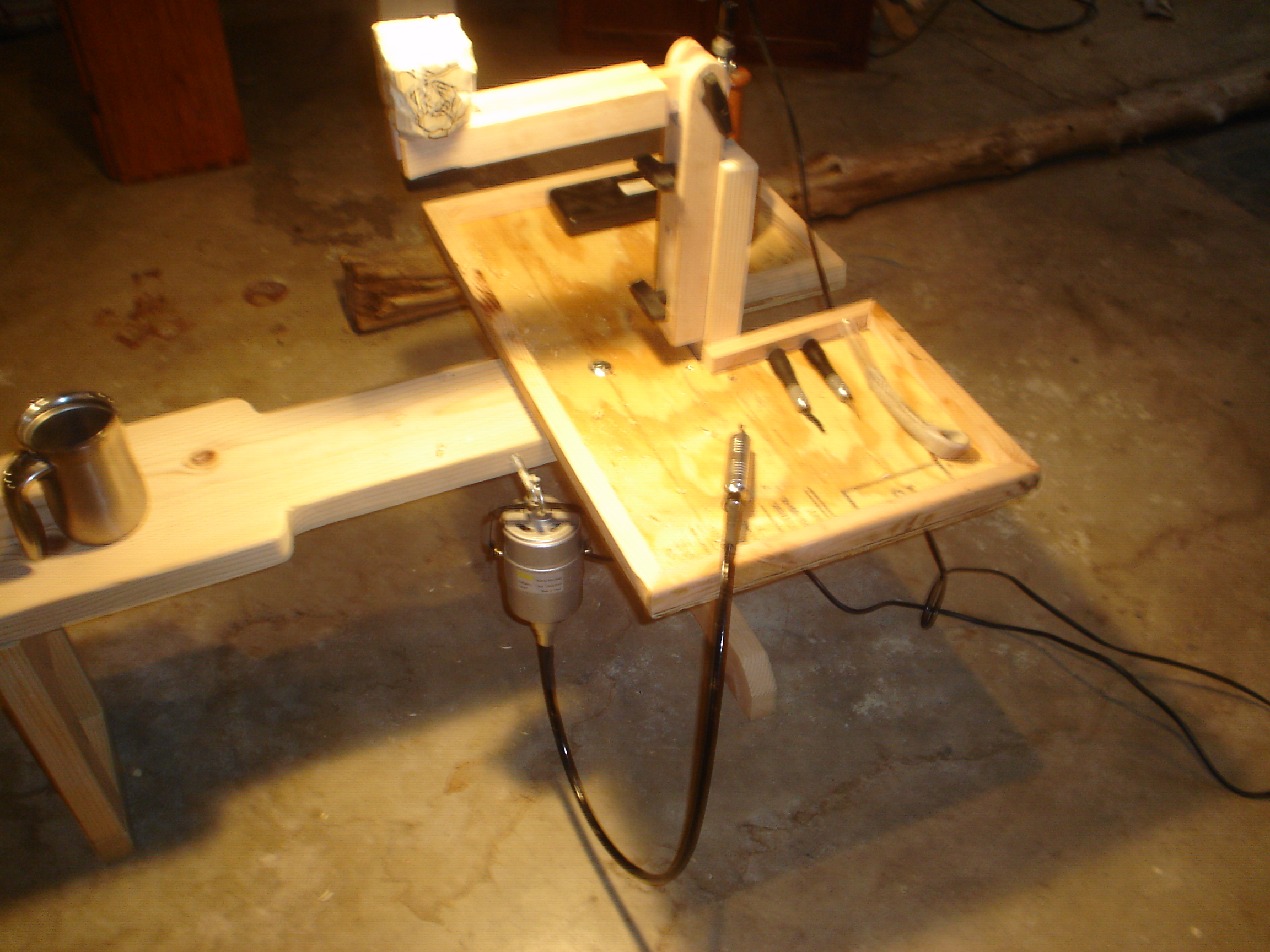 Woodcarvers Bench PDF Woodworking