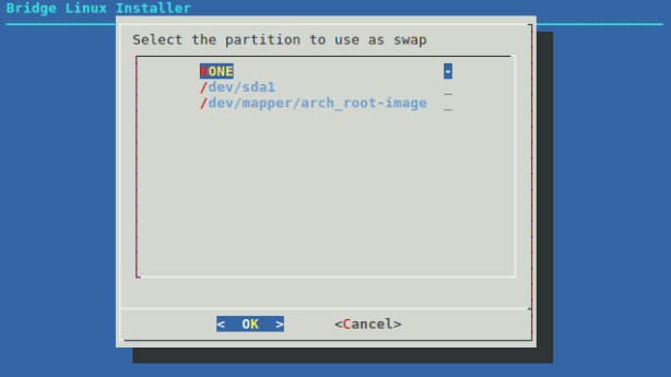 2-2-5-Partition To Use SWAP