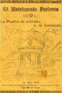 Portada del Libro el Matrimonio Perfecto de kínder o la puerta de entrada a la iniciación Gnosis Mexico