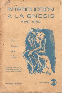 Portada original del libro Introducción a la Gnosis del VM Samael Aun Weor