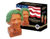 The Prez looks pretty good with a leafy green afro (Vitamin-Ha)