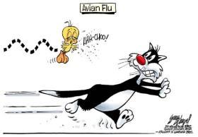 Avian Flu - Gary Varvel - Warner Brothers