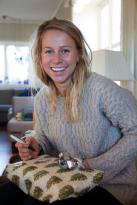 Tiril Eckhoff of Norway went bronze in the 12.5 km mass start biathlon... and is too cute.