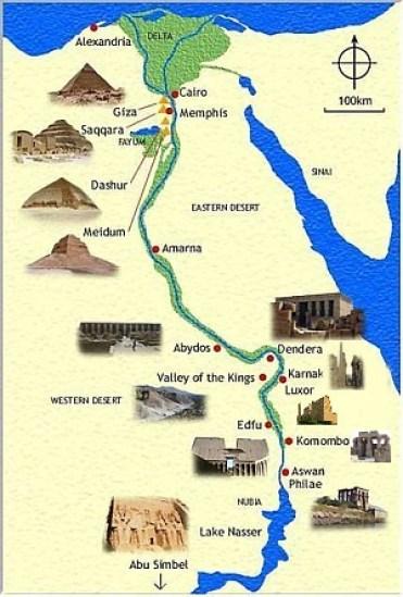 Resultado de imagen para mapa de ubicacion de abydos