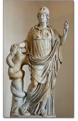 athena-and-serpent