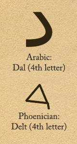 daleth-arabic