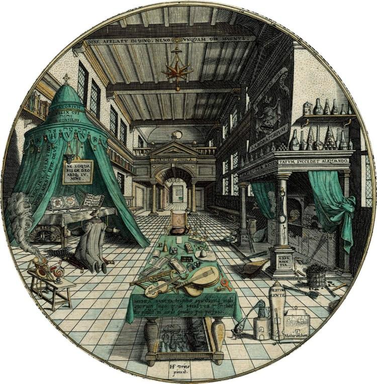 laboratorum-Heinrich-Kunrath