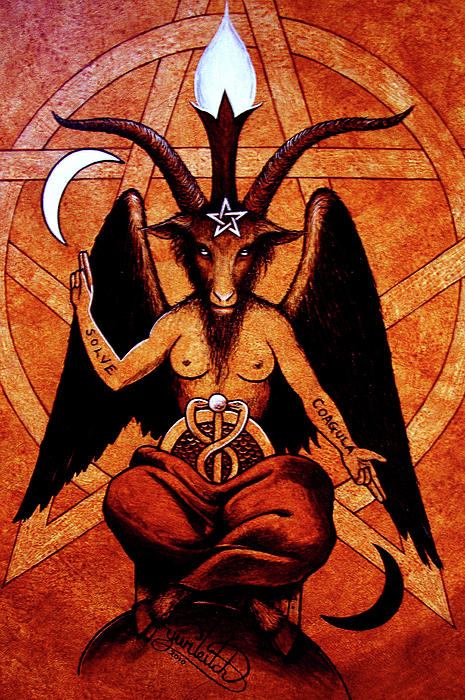 Image result for pan, baphomet, devil