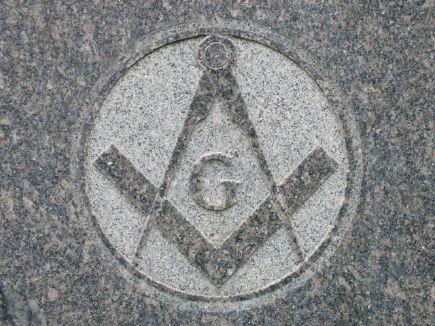 Freemason stone