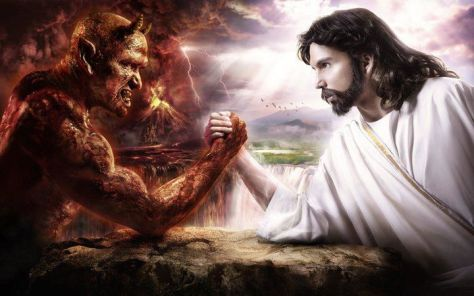 Demon and Jesus