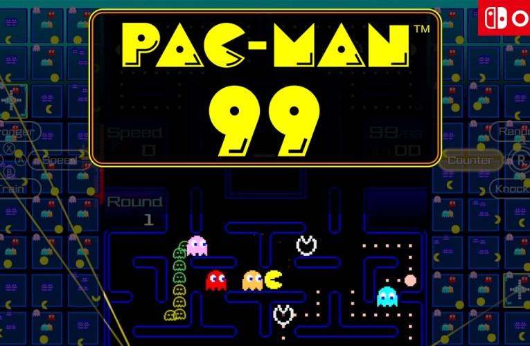 PAC-MAN 99 ya está disponible en Nintendo Switch