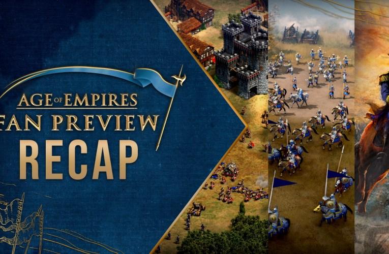Todo lo que se reveló en Age of Empires: Fan Preview este finde pasado