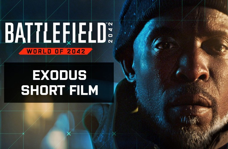 """ELECTRONIC ARTS y DICE presentan """"EXODUS"""", un corto que revela los eventos que desarrollaron el all-out warfare en BATTLEFIELD 2042"""