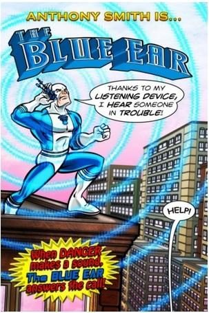 Marvel Comics Blue Ear
