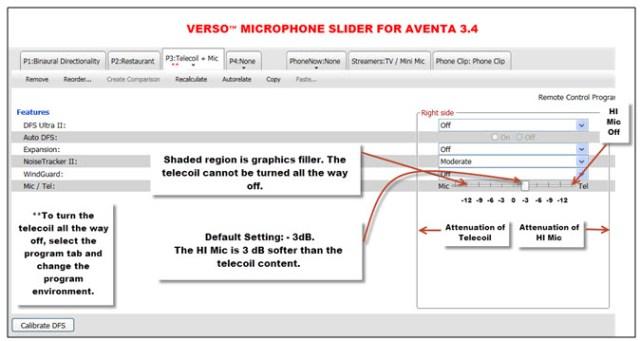 Verso Telecoil Slider
