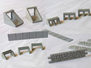 HO Scale Culverts and Retaining Walls