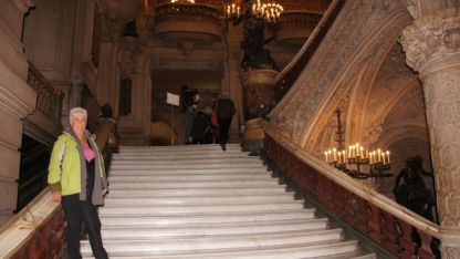 The staircase at The Opera