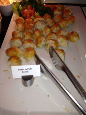 Snails in Puff Patry