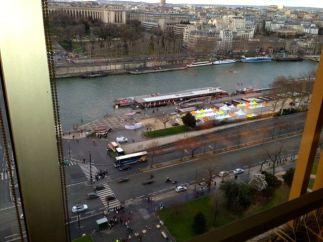 View from Eiffel Tower Restaurant