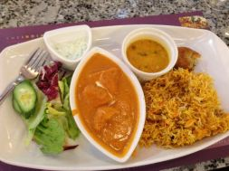 Indian lunch - scrumptious