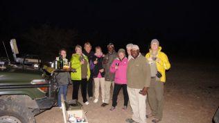 Drinks before dinner - safari style