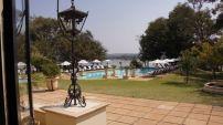 Zambezi River in the background