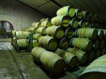 Each cask weights around 360kg