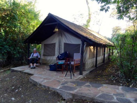 Our Tent at Maasai Mara Lodge