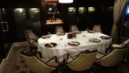 Exquisite Murano Dinning Experience