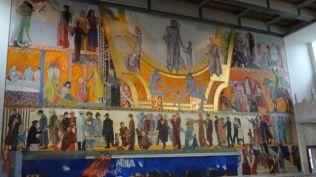 Paintings inside City Hall