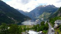 From our window at Geiranger