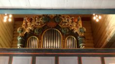 The organ at the stave church