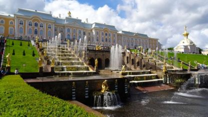 Peterhof Palace - the fountains