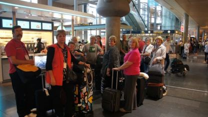 Arriving in Oslo