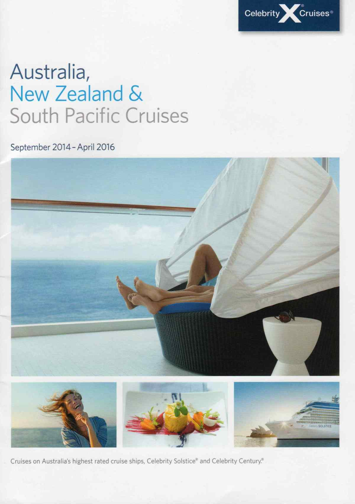 Celebrity Cruises – Australia, New Zealand and South Pacific