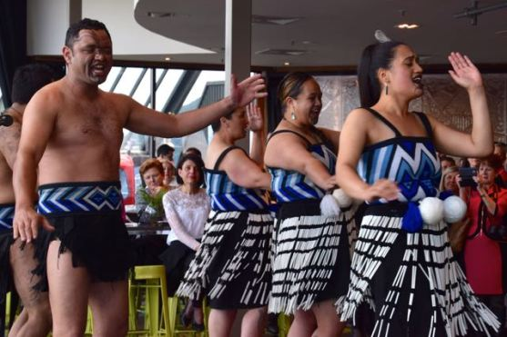 Lyn Spain - Maori Dancing