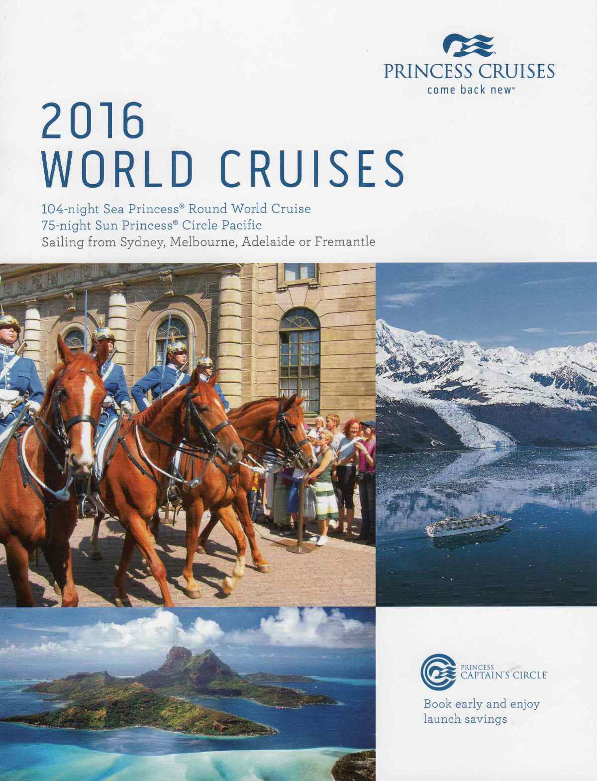 2016 World Cruises