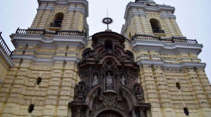 Beneath the church a place to keep bones.