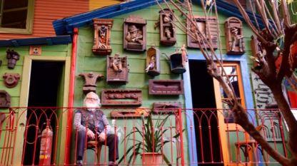 The owner at La Boca