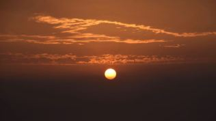 Sunrise today