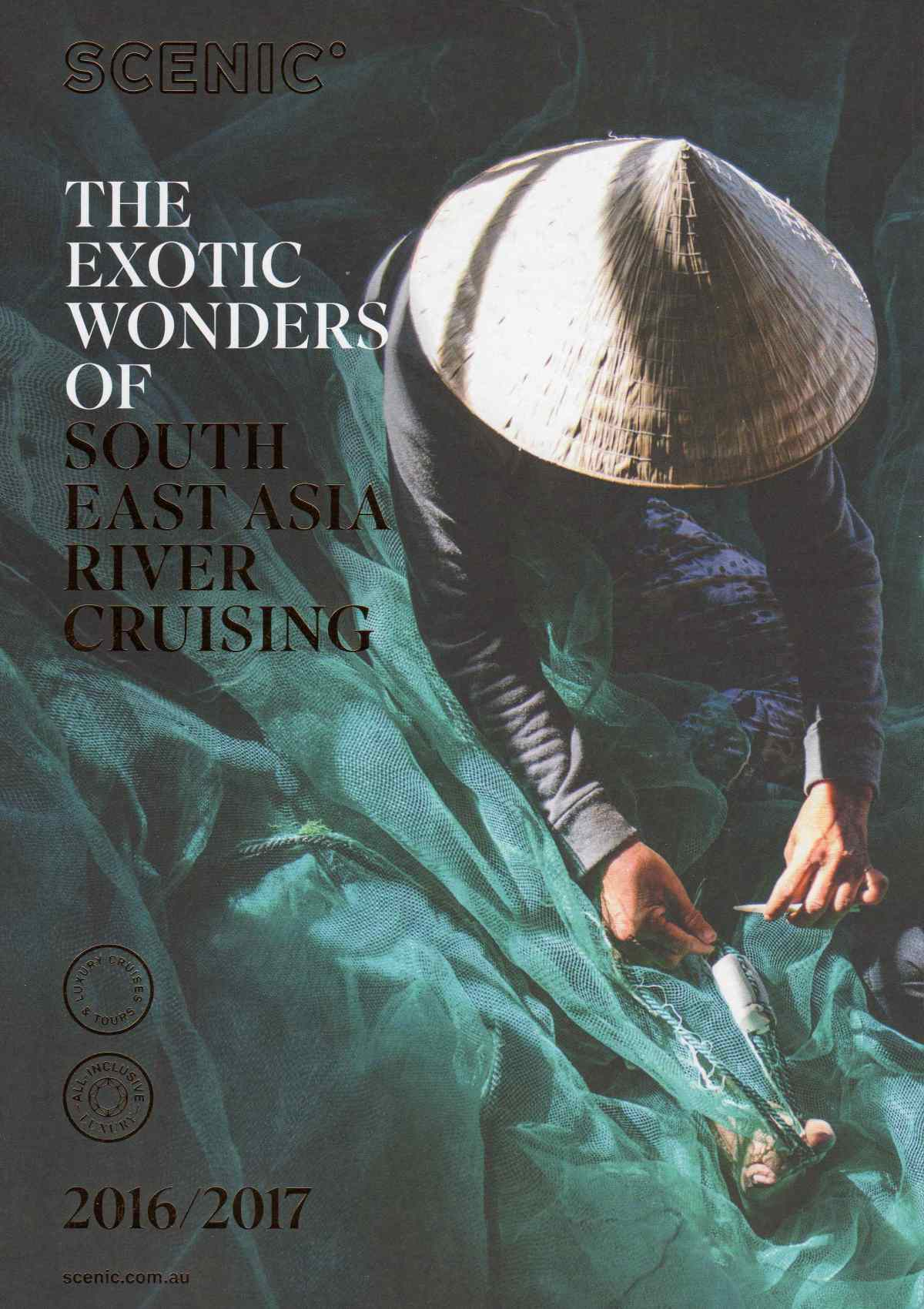River Cruising In Asia with Scenic Brochure