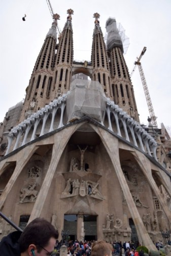 Cathedral under construction