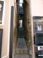The world's narrowest street.