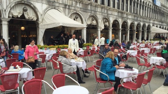Dining in St Mark's Square