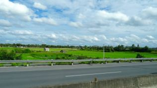 Farms along the way