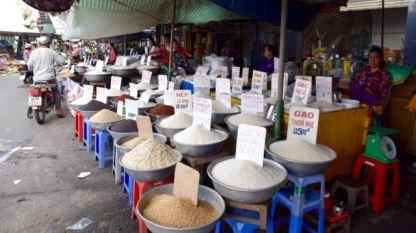 So many varieties of rice.