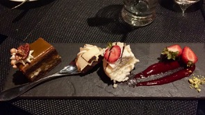 "Dessert - very hard to say ""NO"" too."