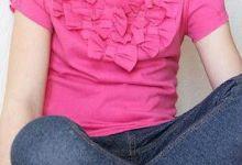 Photo of بلوزة لطفلتك من التيشيرت القديم